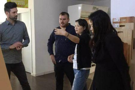 匈牙利品牌方销售总监一行到访IBF全品地板总部洽谈合作五大连池
